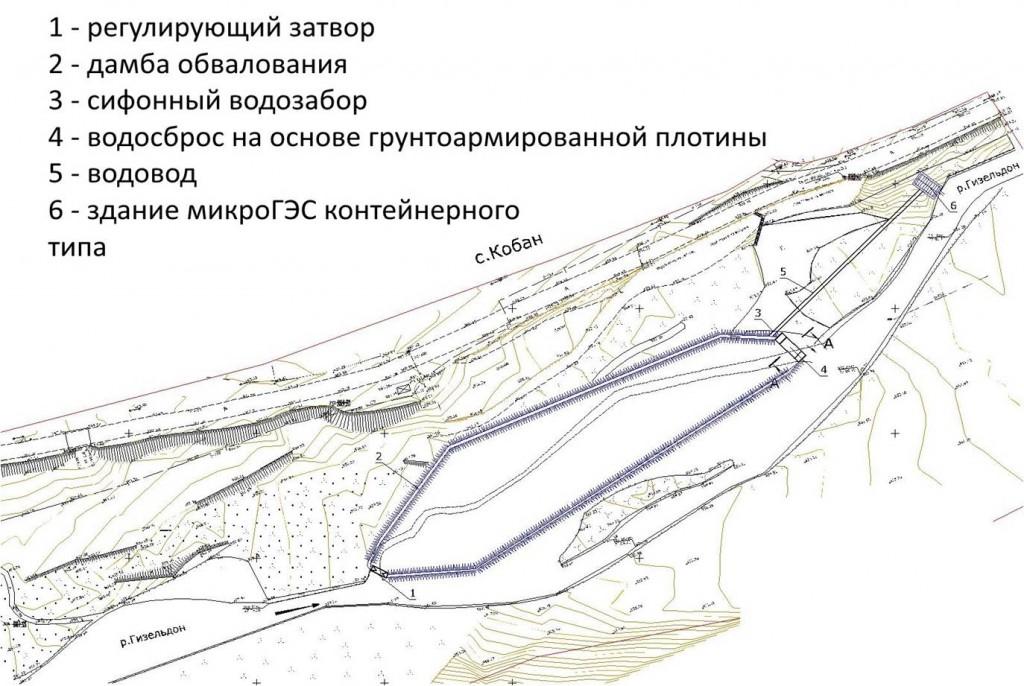 Схема микроГЭС_Гизельдон_5кВт